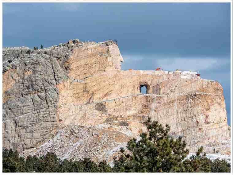 The Crazy Horse Memorial South Dakota by Agnes
