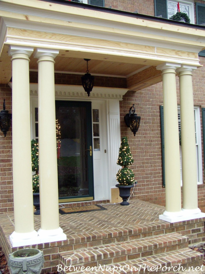 Square Porch Pillars