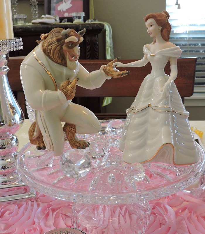 A Beauty And The Beast Princess Birthday Tablescape