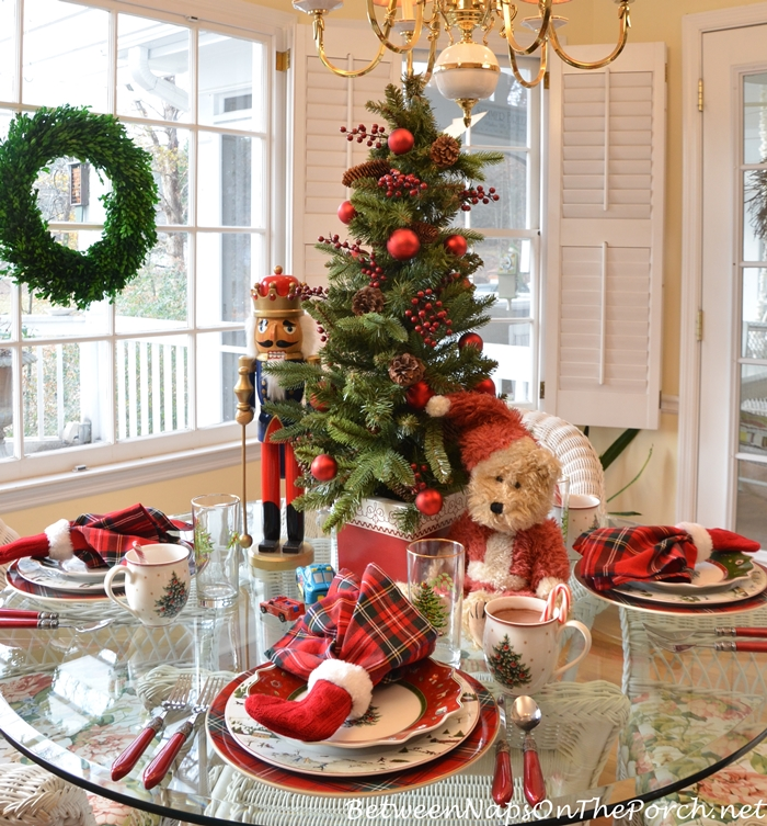 Christmas Table Setting With Villeroy Amp Boch Toys Delight