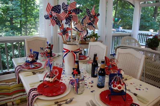 Patriotic Party 15 Diy 4th Of July Decor Ideas