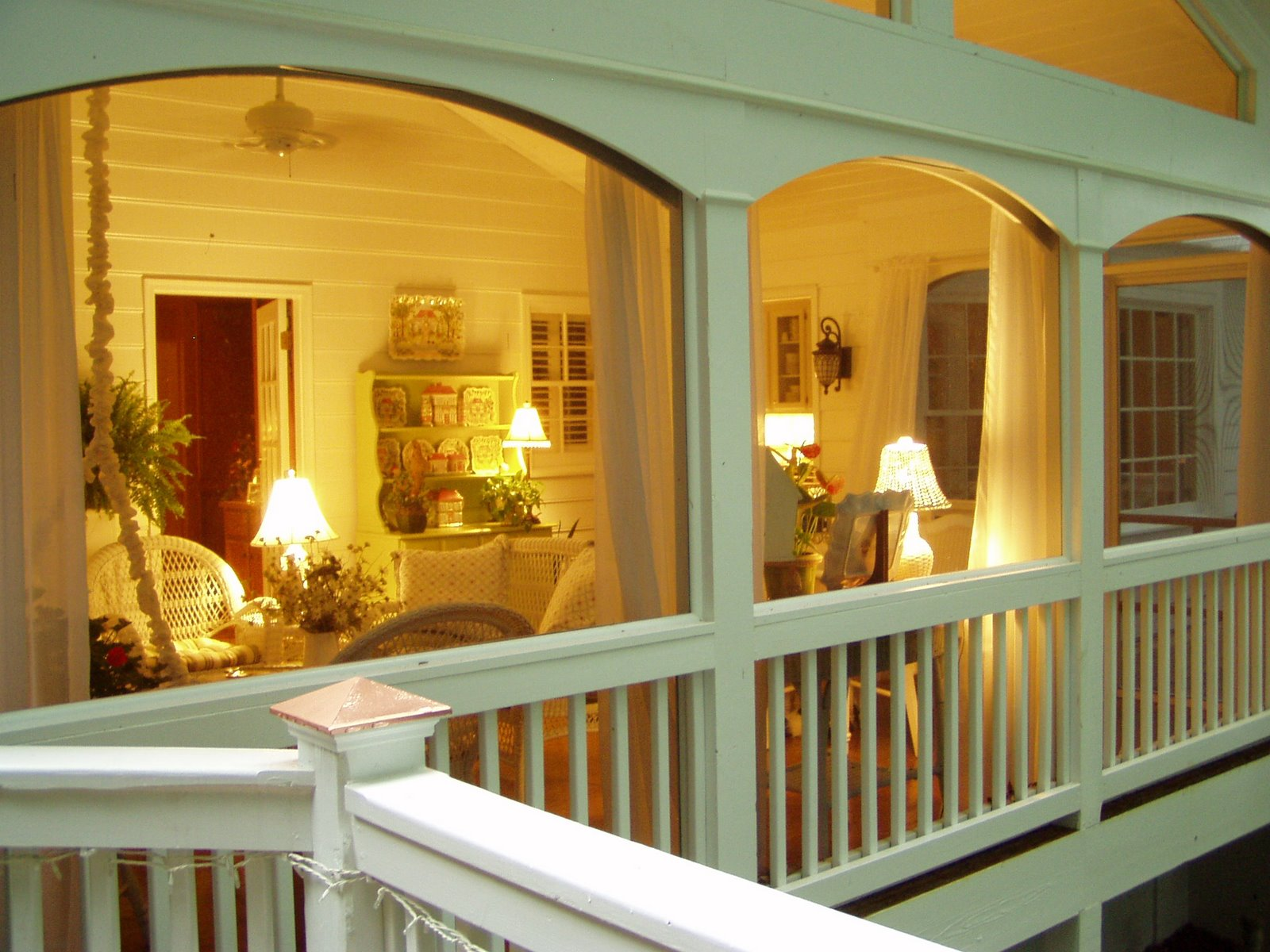 Designing and Building a Screened in Porch on Enclosed Back Deck Ideas id=30816