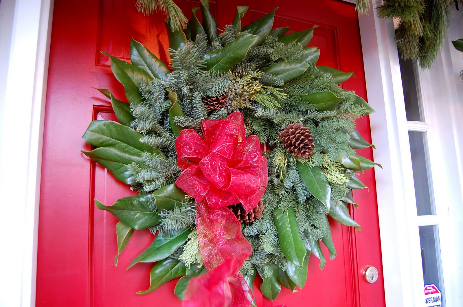 Decorate Your Porch for Christmas     Between Naps on the Porch Decorating for Christmas with Magnolia and Pine
