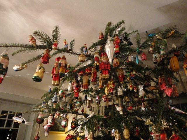 Christmas Tree Decorations Small German Mountain Village
