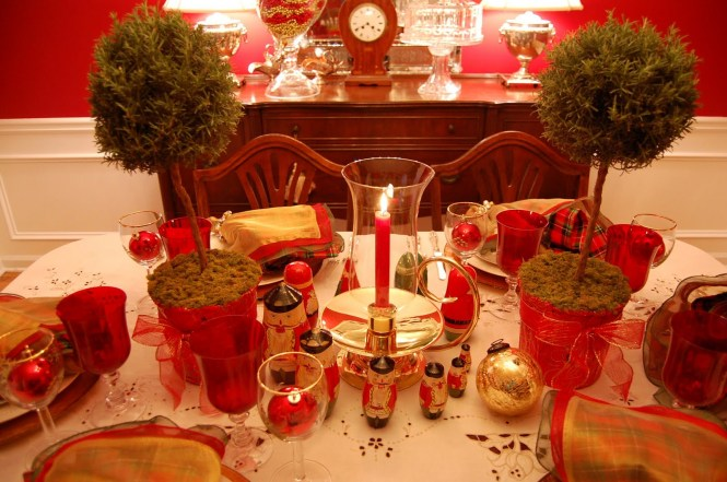 Original 1024x768 1280x720 1280x768 1152x864 1280x960 Size Red Christmas Table Decoration Ideas And Gold
