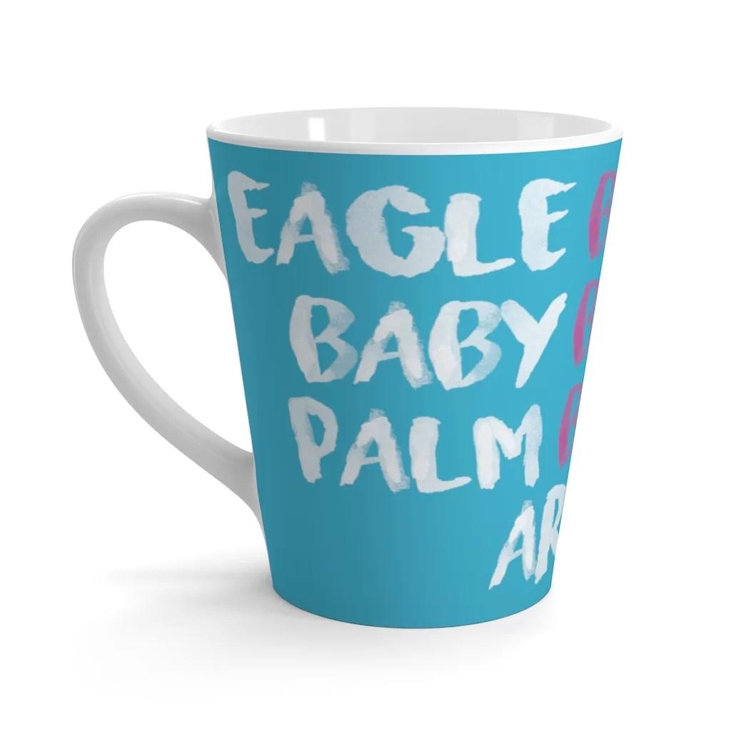 Beaches Latte Mug