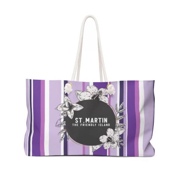 Weekender Bag-Purple