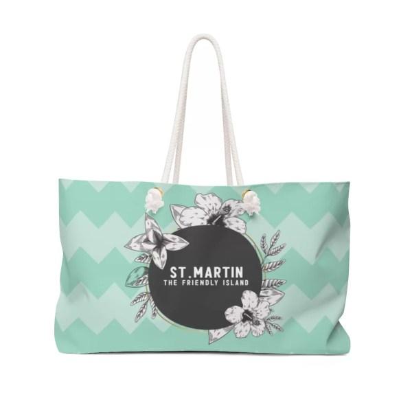St. Martin Weekender Bag-Green