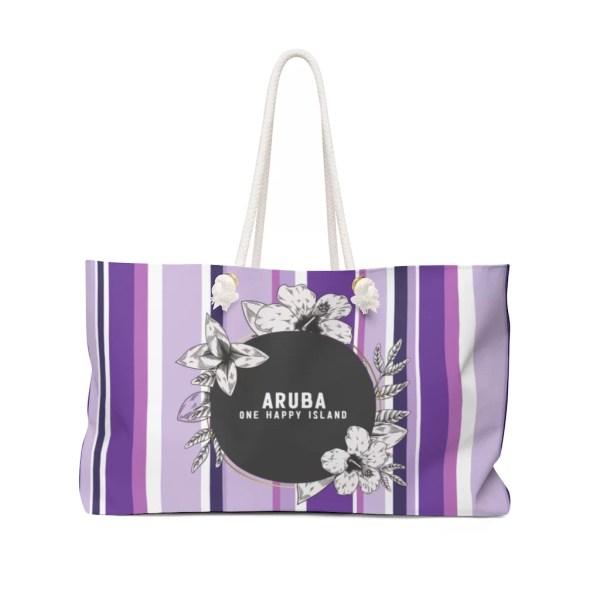 Aruba Weekender Bag-Purple