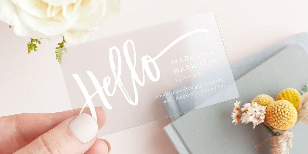 Basic Invite Business Card