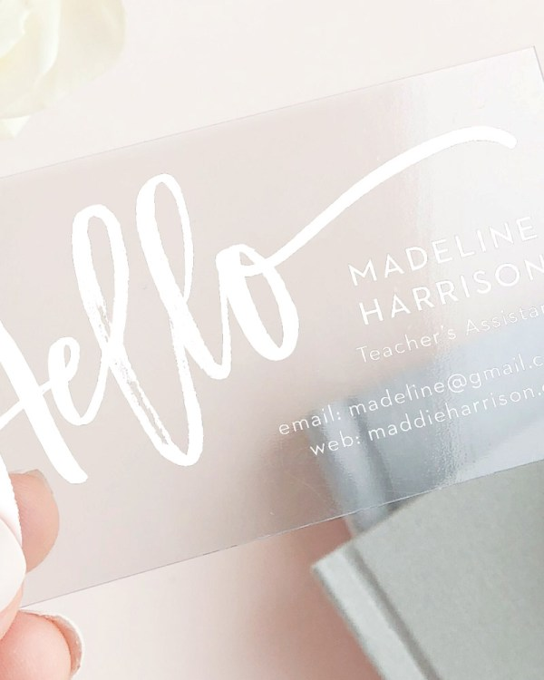 How to Choose a Business Card