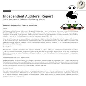 BTMar questions audit