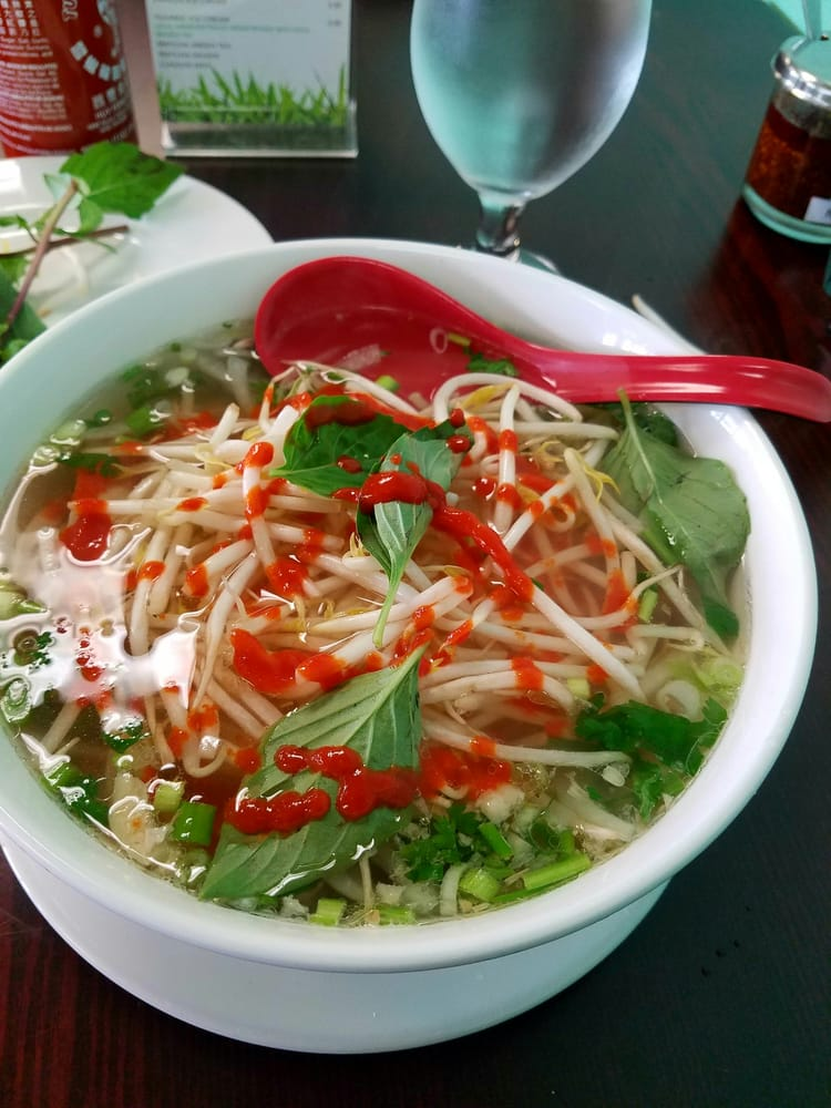Pho with Chili Oil
