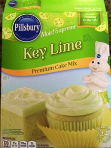 Key lime cupcakes made simple