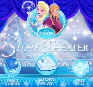 Frozen: Story Theater app review