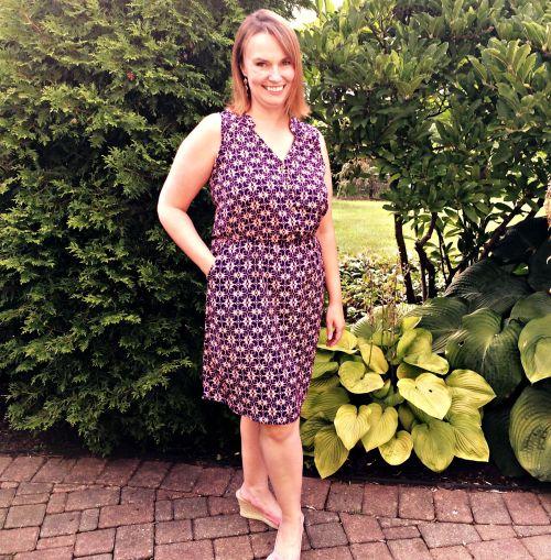 August Stitch Fix Keziah Shirt Dress
