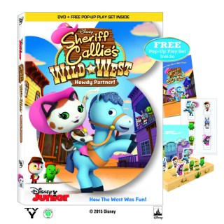 Sheriff Callie's Wild West: Howdy Partner DVD #Giveaway