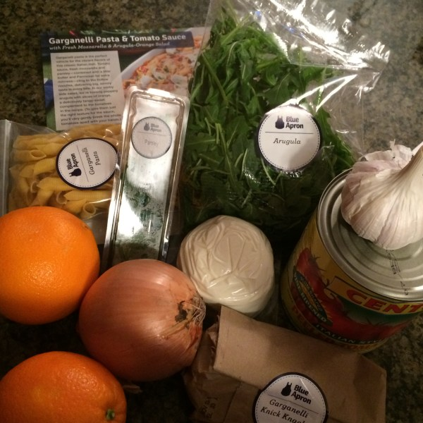 Blue Apron review - All the ingredients you need for the recipes you select
