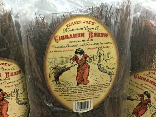 Cinnamon Broom at Trader Joe's