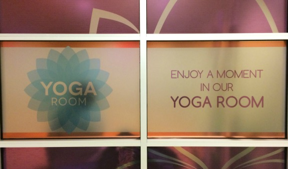 Yoga Room at Midway Airport in Chicago