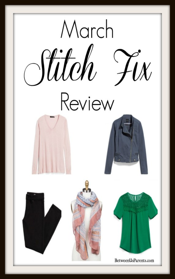 Spring Stitch Fix Review March 2017