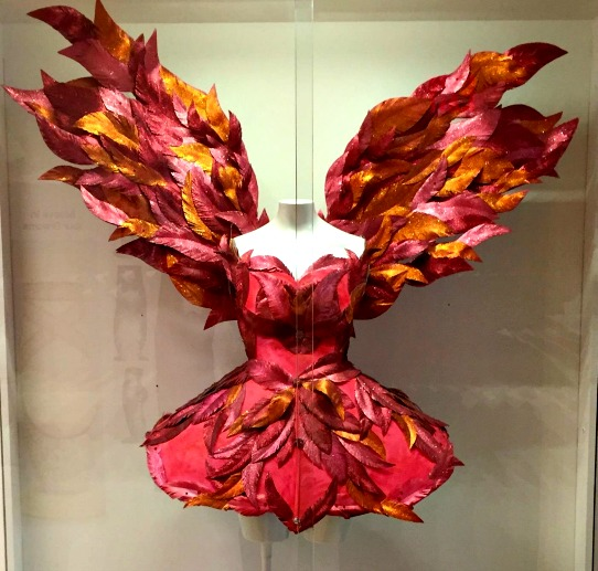 The Firebird costume at National Dance Museum