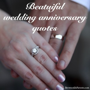 Beautiful wedding anniversary quotes