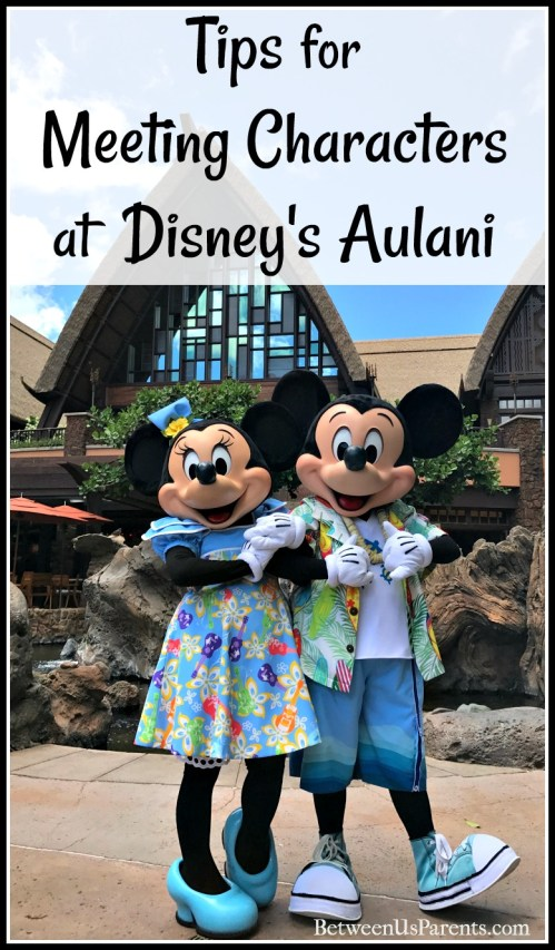 Tips for meeting characters at Disney's Aulani in Hawaii