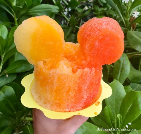 Mickey Shave Ice at Aulani