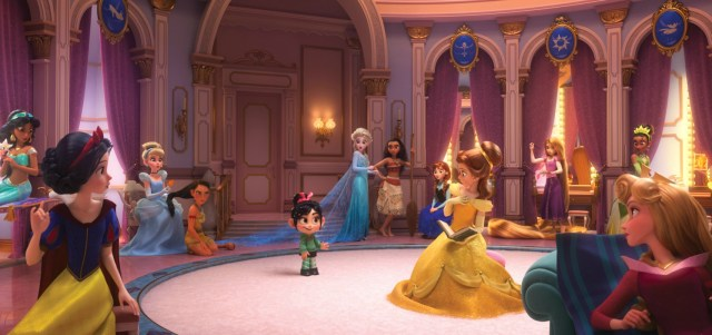 Princesses in Ralph Breaks the Internet
