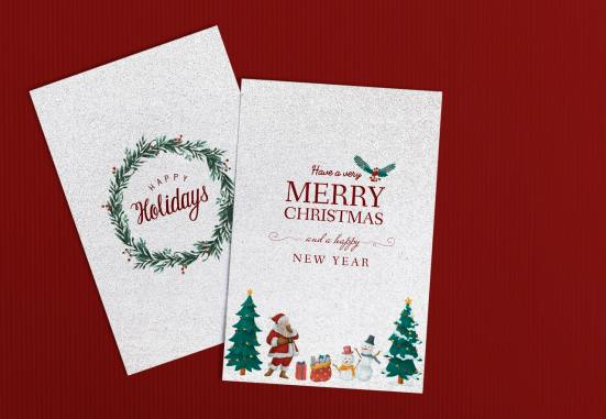 learn from sending Christmas cards