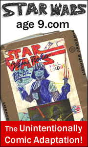 star wars age 9 webcomic, linked promo image