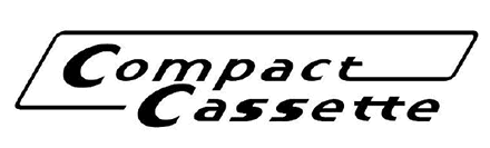 The Compact Cassette logo