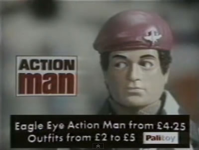 Action Man 'Eagle Eyes' TV advert