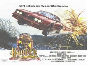 Poster for Burt Reynold's Hooper movie