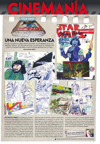 cinemania magazine article