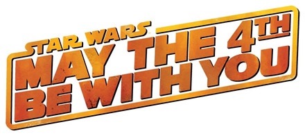 may the fourth be with you logo