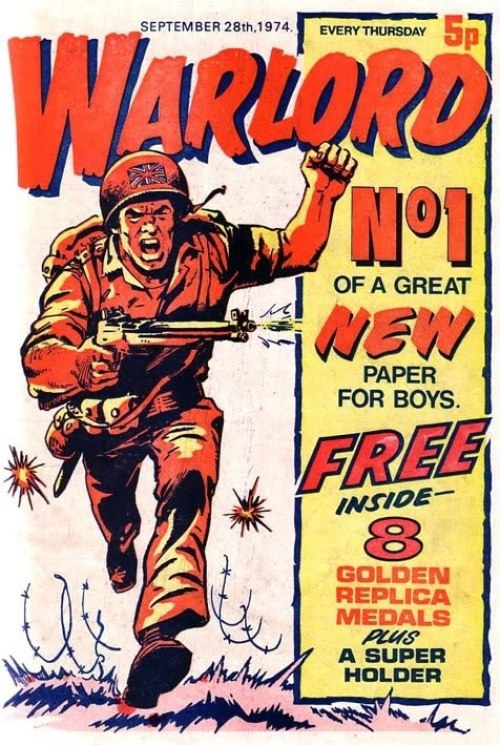 Warlord Comic for boys issue 1 DC Thompson