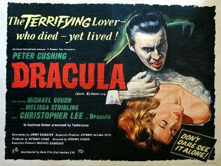 dracula hammer 1958 poster