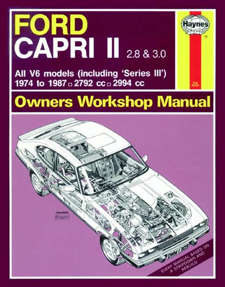 haynes manual for a ford capri