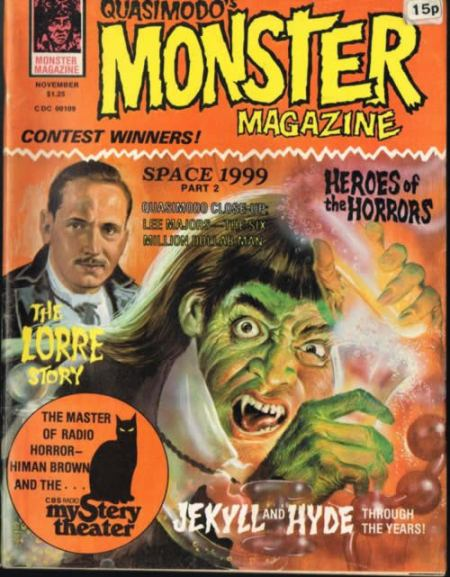 quasimodo's monster magazine