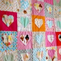 #15 Serca na kocyku/ #15 Heart Quilt