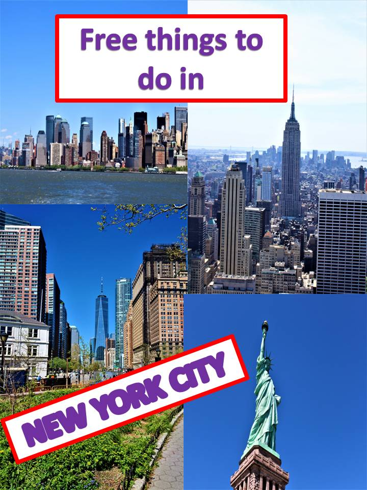 Free things to do in New York City.