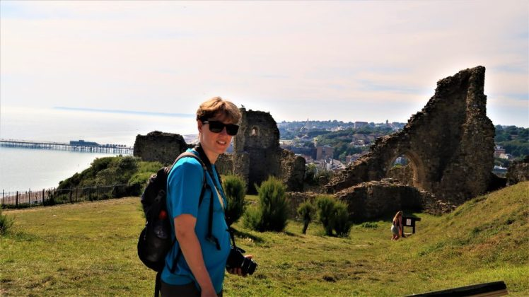 Bev & Shams at Hastings Castle