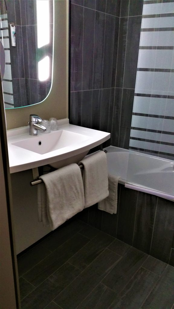The bathroom facilities