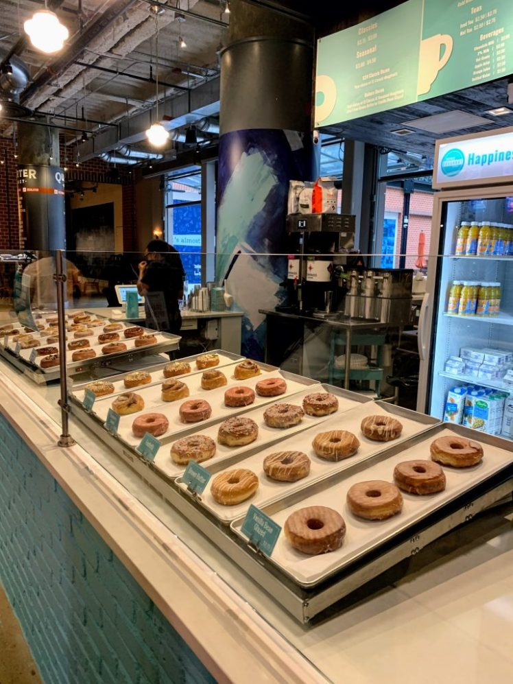 Delicious Doughnuts from District Doughnuts are just one of the best places to eat in Washington DC