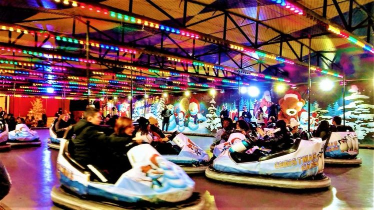 Bumper Cars, at the Christmas Markets in Paris