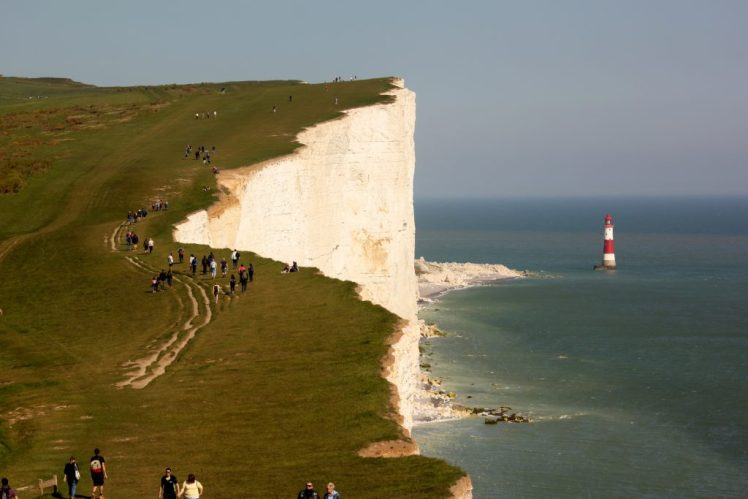 Hiking the Seven Sisters and Beachy Head are just one of the things to do in Eastbourne.