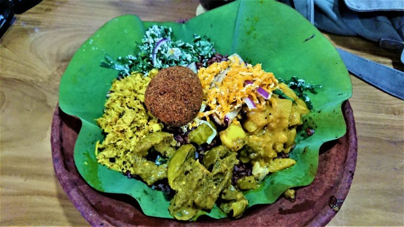 Rambath offer Sri Lankan curries with rice, just one of best restaurants in Colombo
