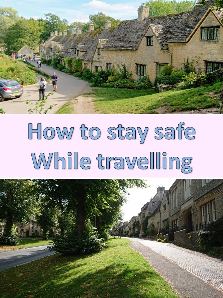 How to Stay Safe While Travelling - Bev & Shams Adventures